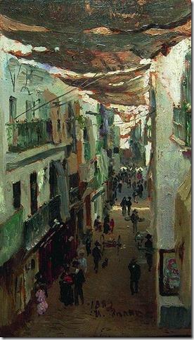 340px-Calle_de_las_Sierpes_by_Repin