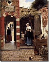 Madre e hijo, Pieter de Hooch