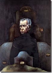 Retrato de Juan Rulfo por Sofía Gandarías