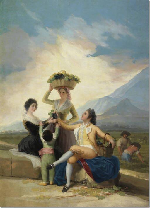 La vendimia, o El Otoño Goya