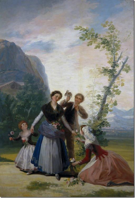 Las floreras, o La Primavera Goya