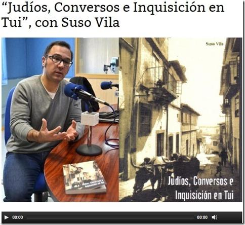 Suso Vila en Radio Sefarad