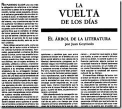 El árbol de la literatura - Juan Goytisolo