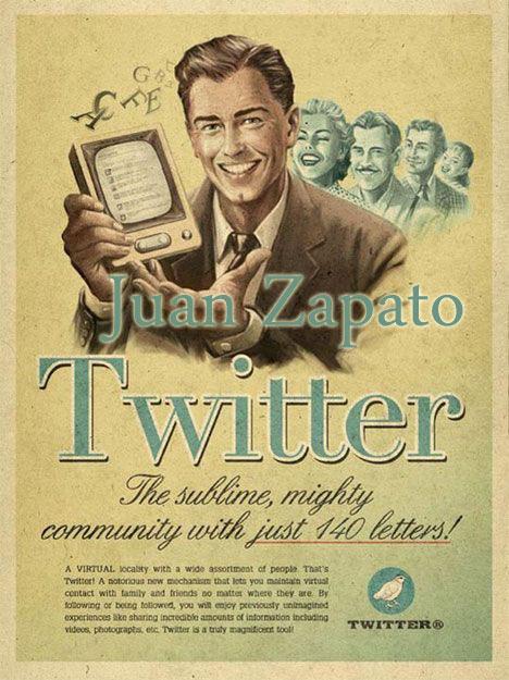 Sigue a Juan Zapato en Twitter