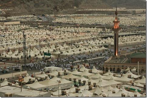 Carpas en Arabia Saudí para el Ramadán, ni un solo refugiado.