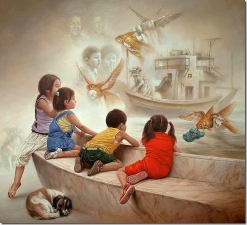 niños-surrealistas